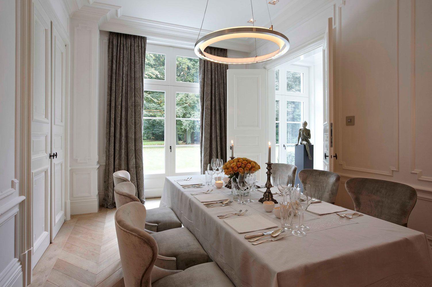 exklusiver Villenbau Villenbau Vlassak Verhulst   salle à manger ...