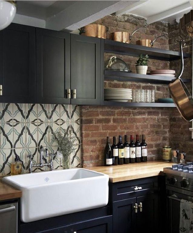 Charming Rustic Kitchen Ideas And Inspirations: Bold Kitchen, Kitchen Inspirations