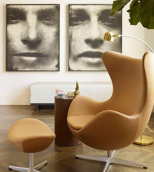 Egg Chair Design Applying Egg Chair Design In Modern Interior