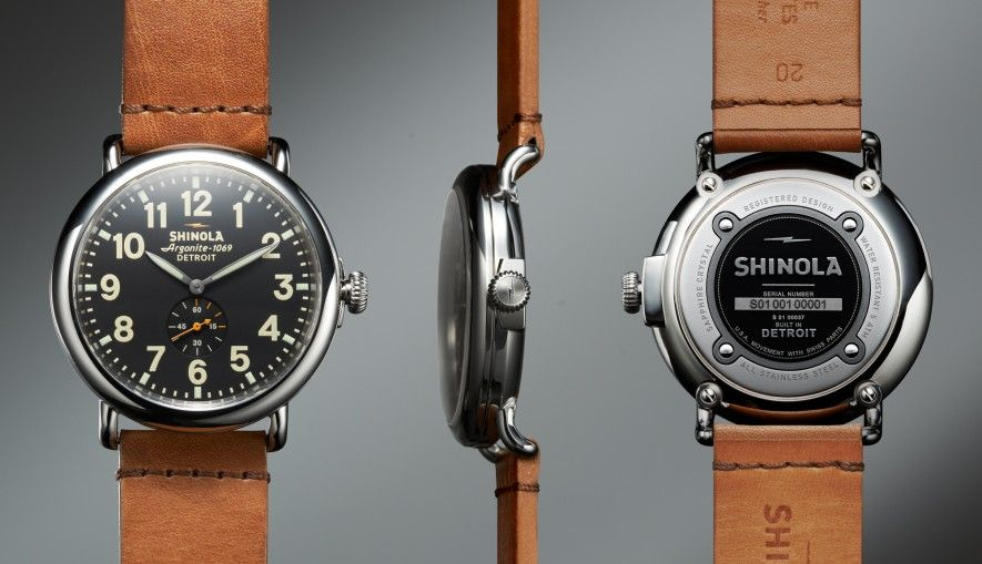 Gorgeous! The Runwell 40mm Limited Edition | Shinola®