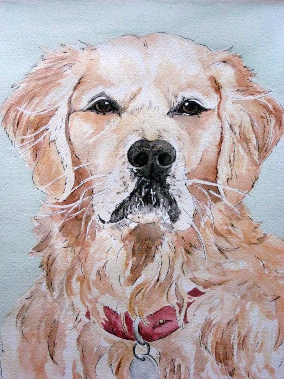 Custom Watercolor Painting/ Illustration of your pet
