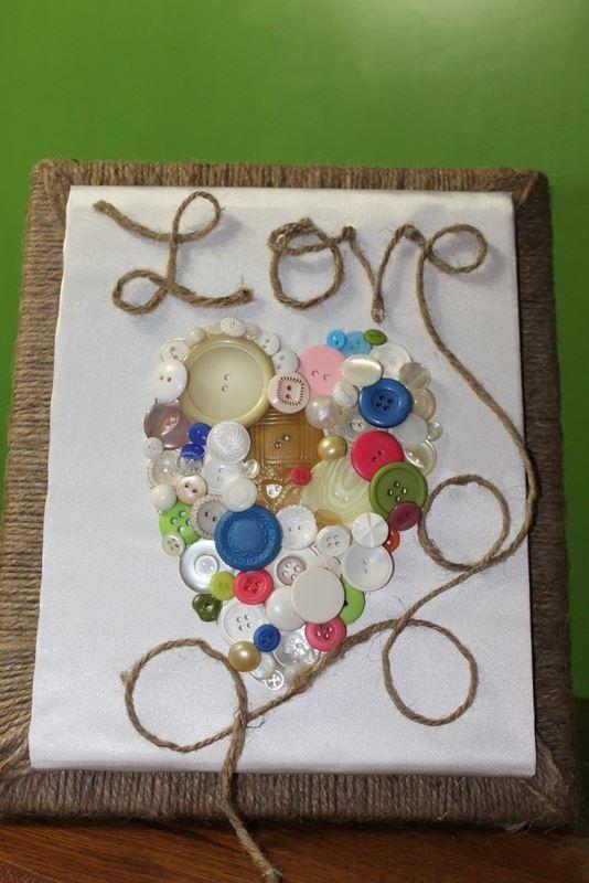 اشغال يدوية للاطفال Button Art Button Crafts Crafts