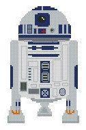 Photo of Cross Stitch Pattern / R2-D2 / PDF Download