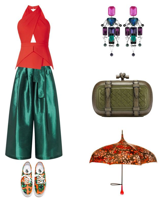 """""""Grace"""" by zoechengrace on Polyvore featuring Tome, BCBGMAXAZRIA, Swarovski and Vans"""