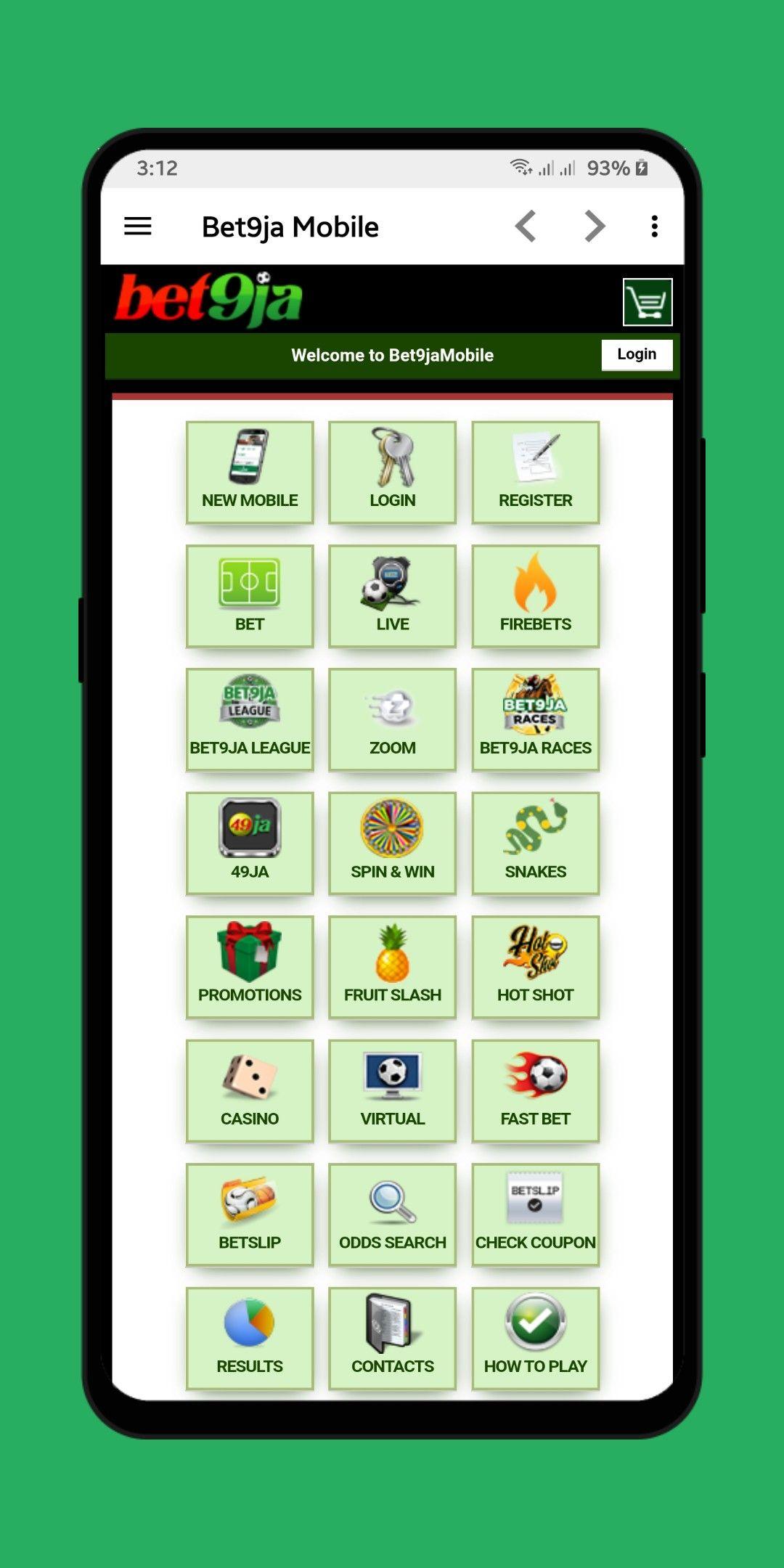 bet9ja mobile betting world