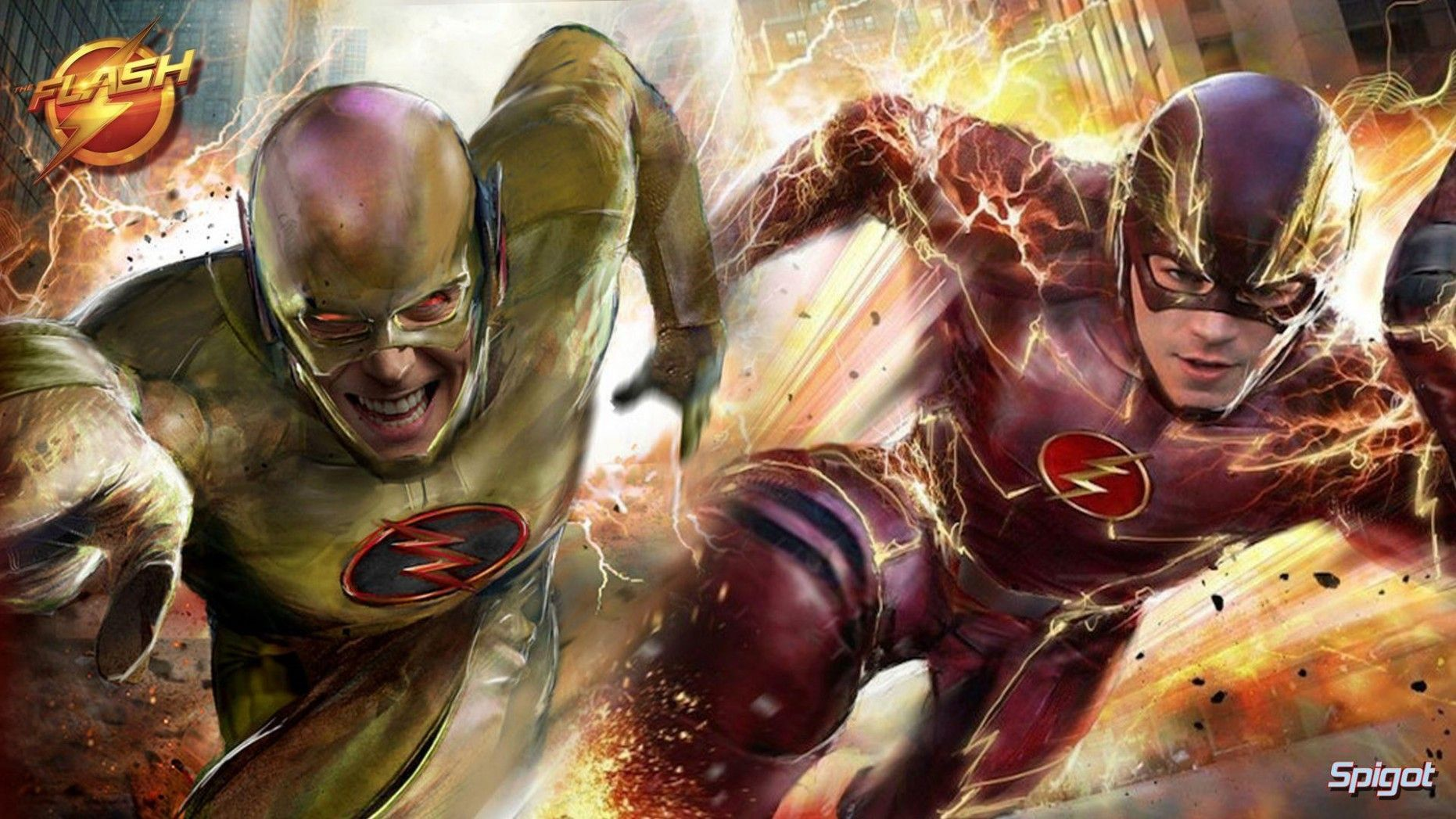 Flash Vs. Reverse Flash Wallpapers in 2020 Flash