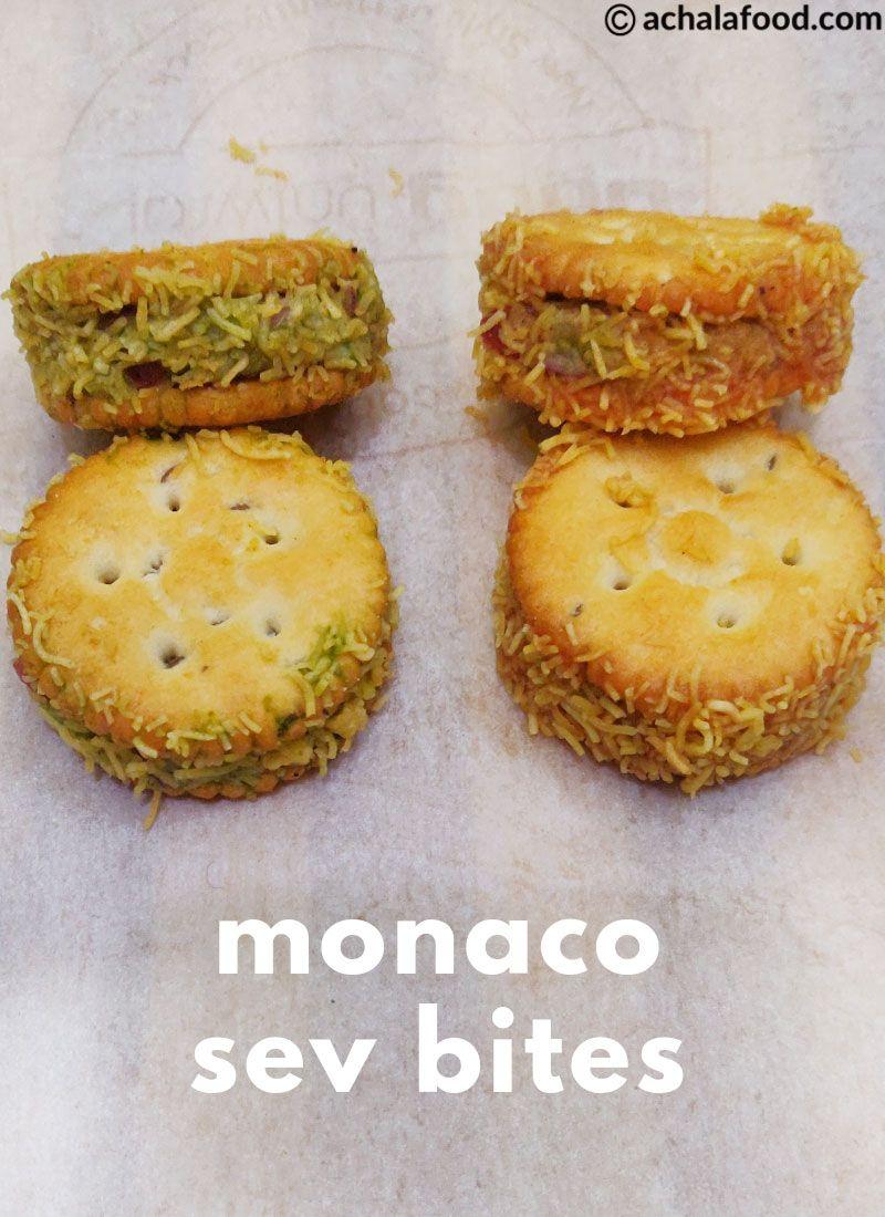 Monaco Sev Bites Recipe Quick Recipes Snacks Vegetarian Snacks Easy Snack Recipes
