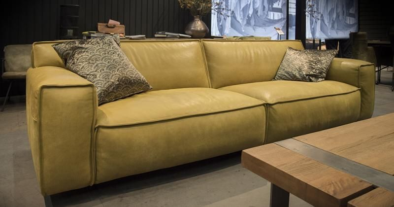 Ecru Leren Bank.Whisper Het Anker Bank Sofa Het Anker Furniture Sofas In