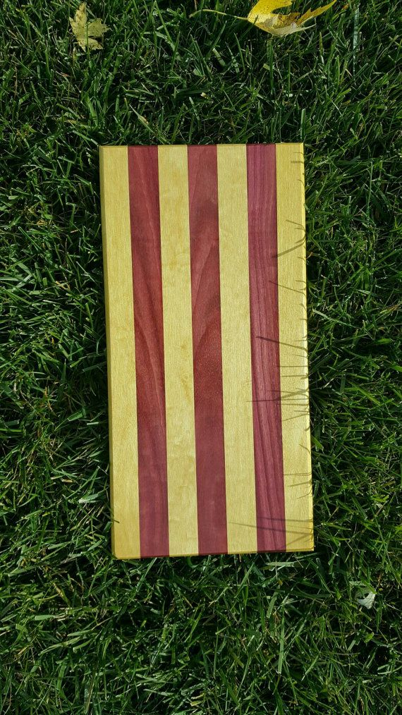 Exotic Wood Cutting Board Purpleheart and by TheGarageWoodwright