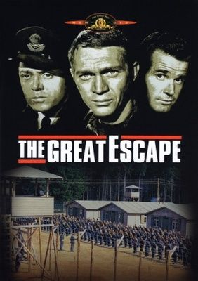 #Sixties | The Great Escape, starring Steve McQueen, Richard Attenborough, James Coburn, James Garner, Charles Bronson, John Leyton, Donald Pleasence, David McCallum and Gordon Jackson, 1963