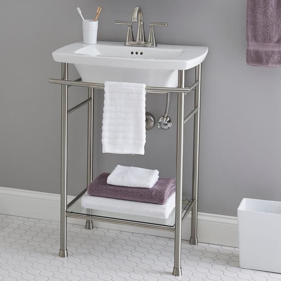 American Standard Edgemere Console Sink Top Bathroom Design