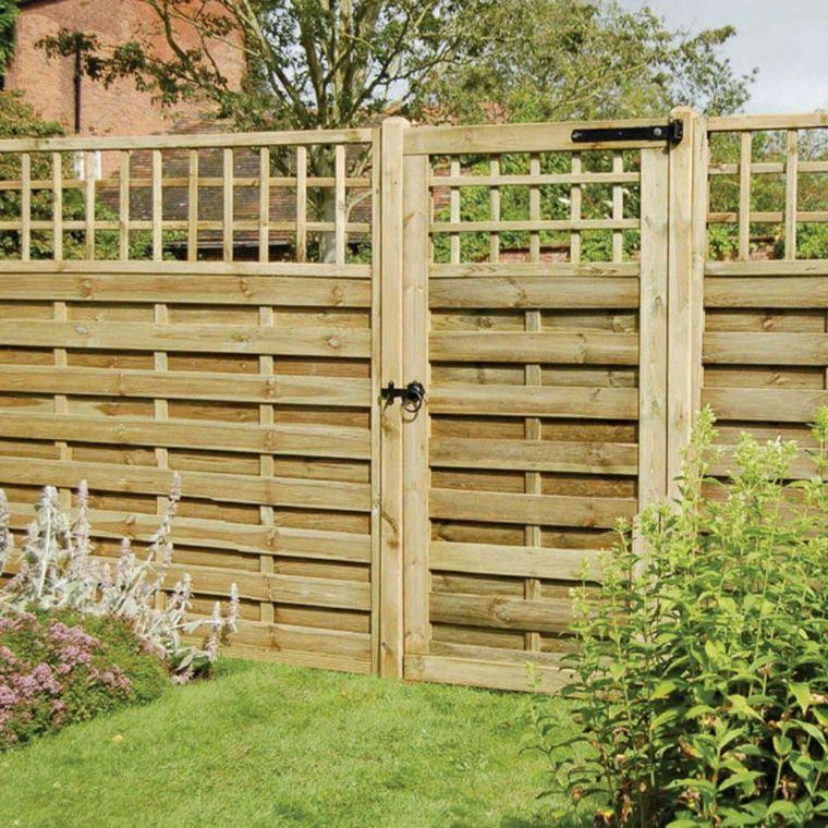 Puertas de jardin arcos verjas cancelas vallas y - Arcos decorativos para puertas ...