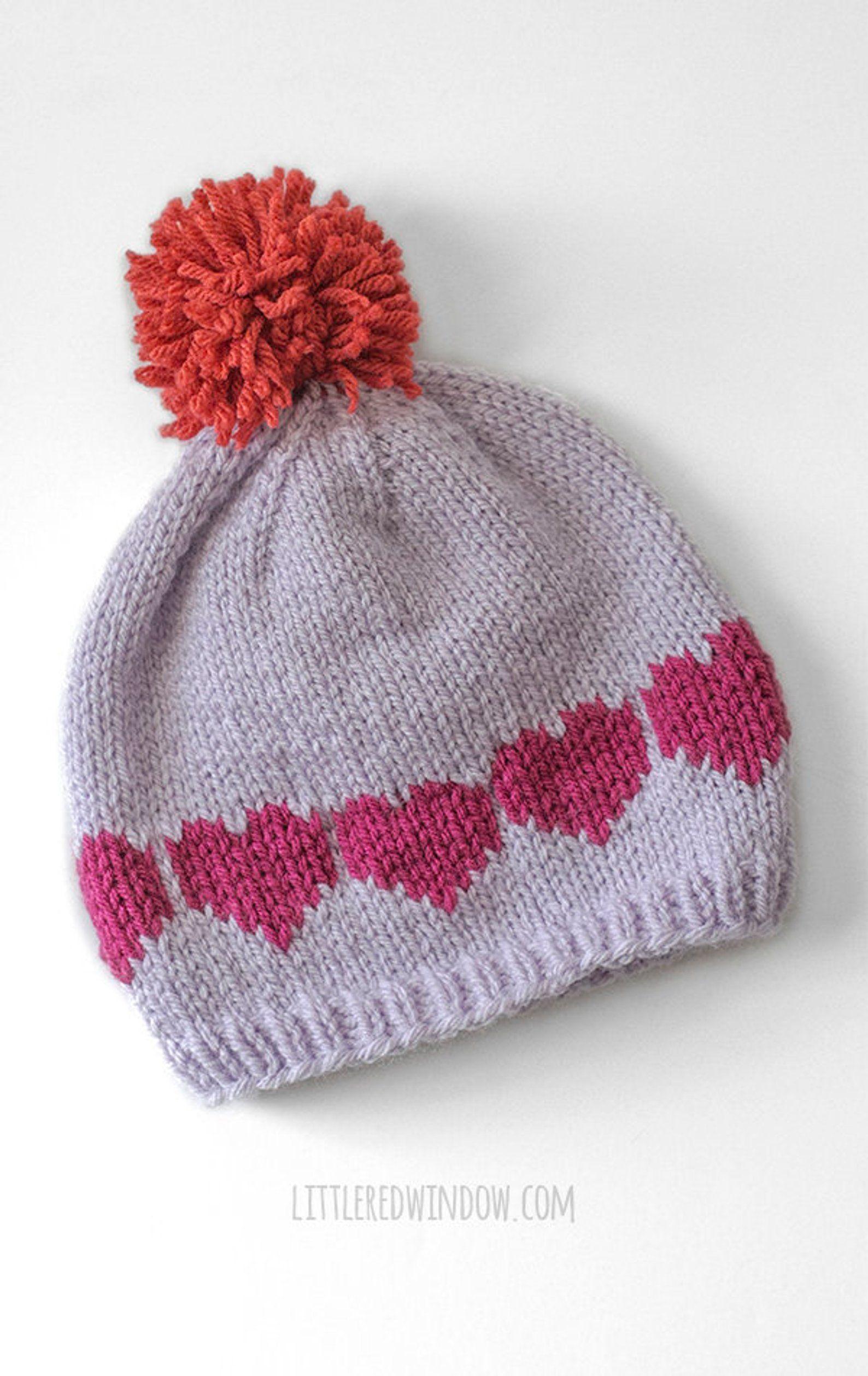 Valentine Love Notes Hats Knitting Pattern Valentine Pattern Etsy In 2021 Knitting Hat Knitting Patterns Knitting Patterns