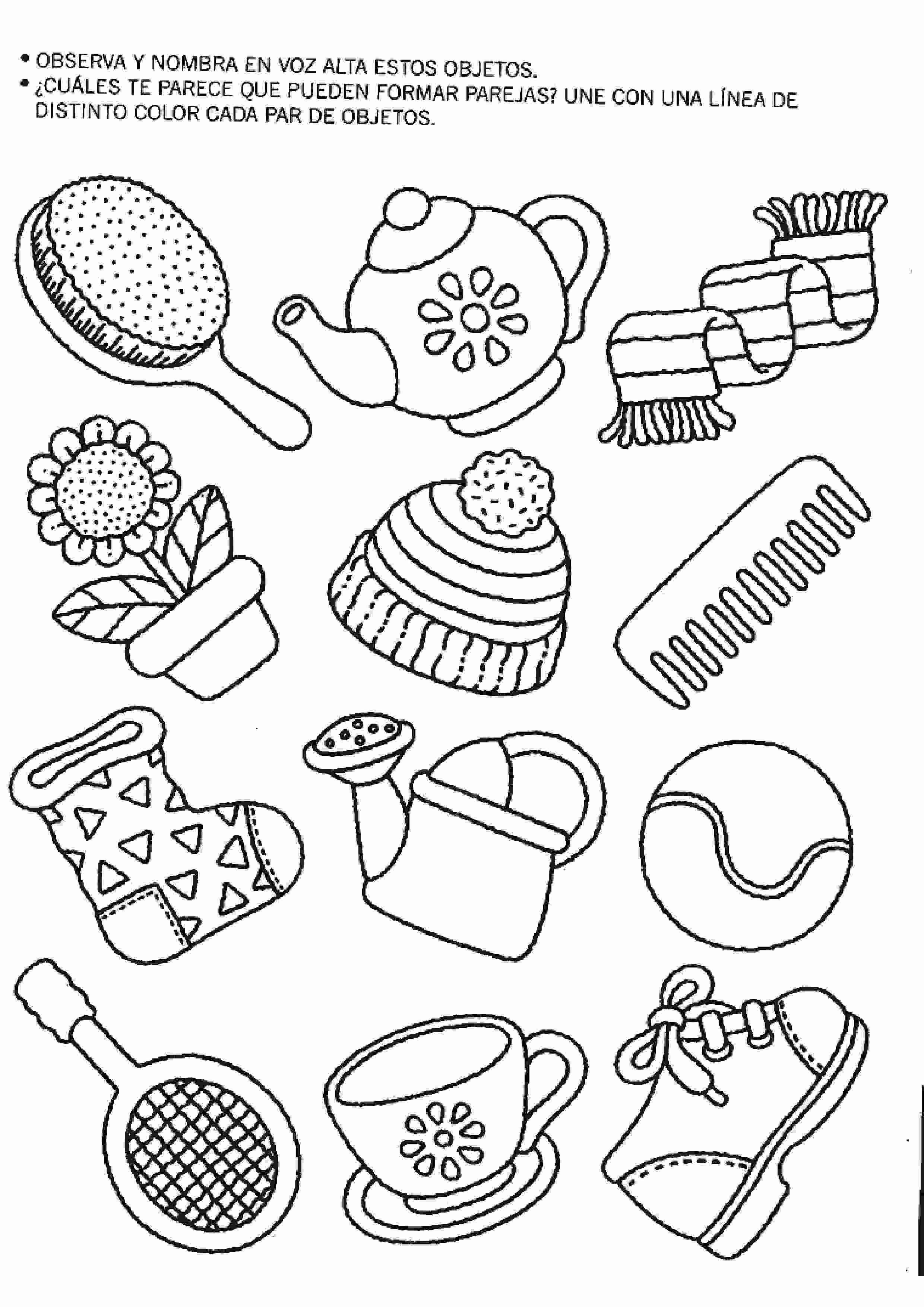 Encantador Juegos De Colorear Dibujos Para Niños Pequeños | Colore ...