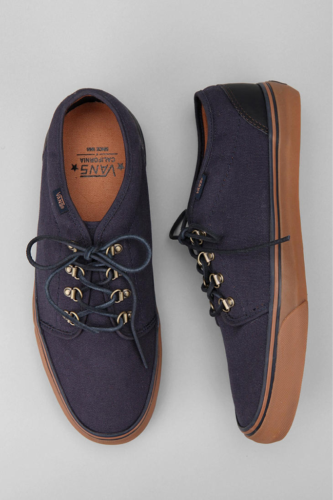2ebe4be19a Vans California 106 Waxed Canvas Sneaker