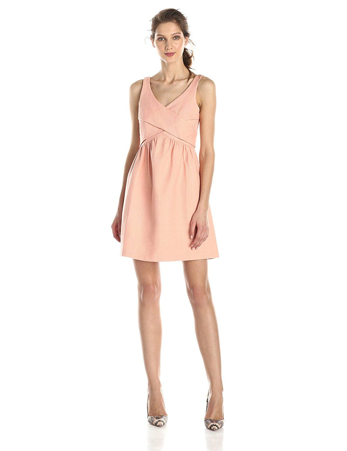 4.collective Women's Basketweave Cross-Wrap Flirty Dress -- Insider's special review you can't miss. Read more  : Dresses
