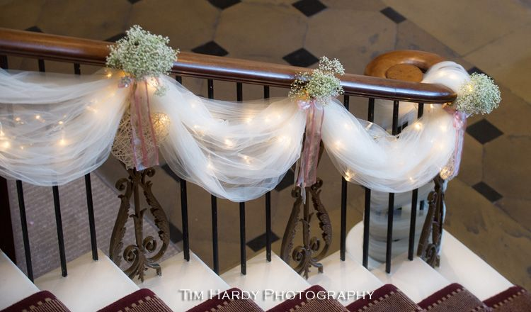 Stair decorations rudding park pinterest decoration wedding stair decorations junglespirit Choice Image