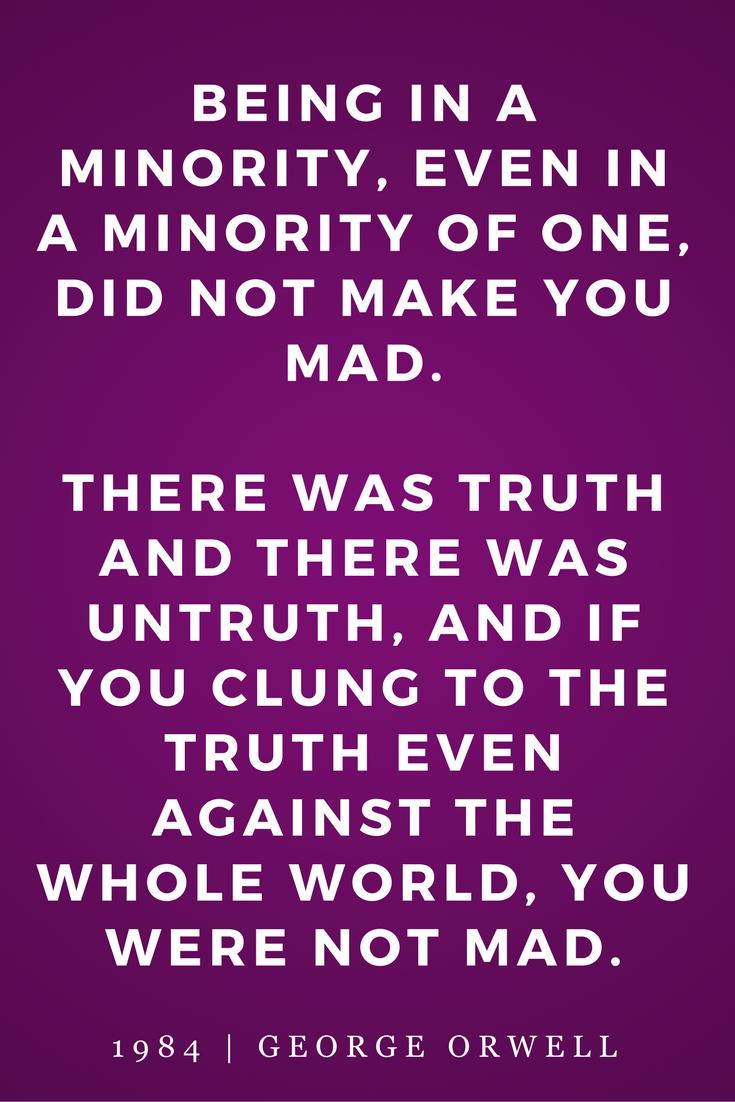 George Orwell 1984 Quotes 1984George Orwell Quotes Books Inspiration Truth Madness