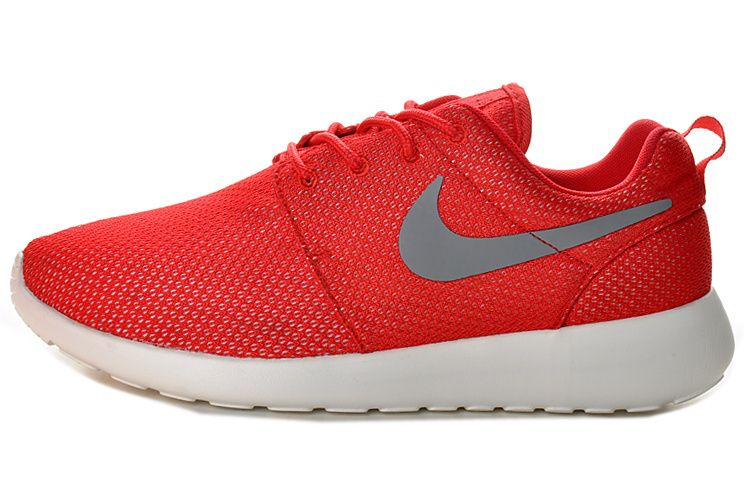 huge discount fa909 dd1ab Nike Roshe Run Red White 511881 061   Roshe runs   Pinterest   Roshe, Nike  roshe and Nike free flyknit