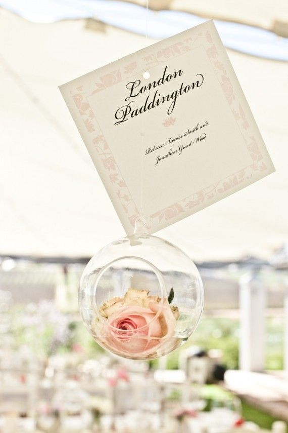 English Country Garden Wedding Stationery