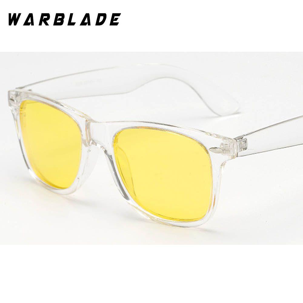 9367ef0be4 WarBLade Brand Unisex Square Vintage Polarized Sunglasses mens Women Rivets Night  Vision Retro Sun glasses gafas oculos UV400 Review