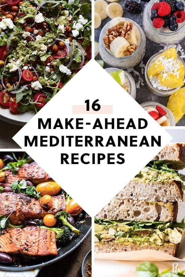 17 Make-Ahead Recipes That Are on the Mediterranea