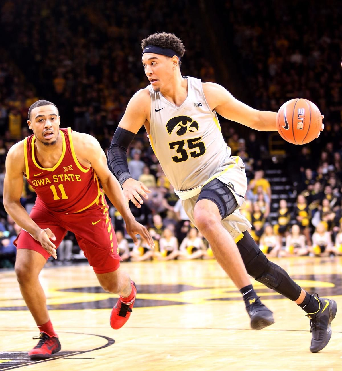 Pemsl Makes Surprising Return Gives Hawkeyes Boost Iowa State