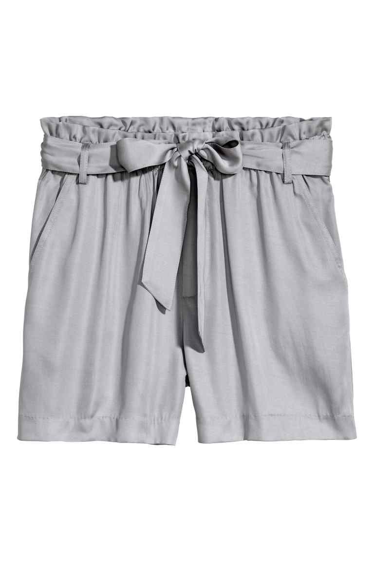 rebajas outlet pero no vulgar para toda la familia Pantalón corto con cinturón | Shorts-Bermudas-Capri ...