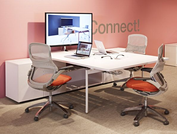 Huddle room = video conference space