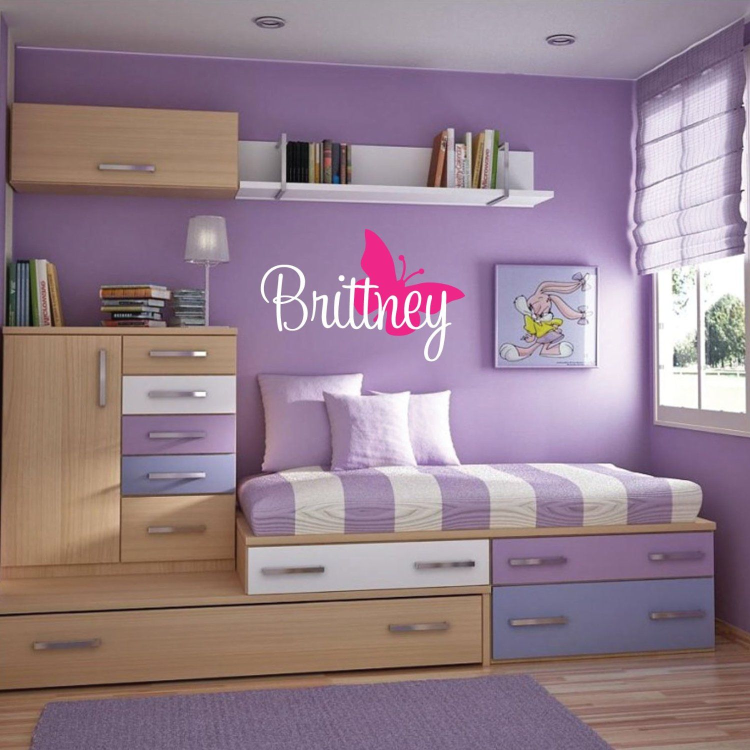 Girls Bedroom Ideas For Every Child: Brilliant Children's Room Idea But With Boy Colors!
