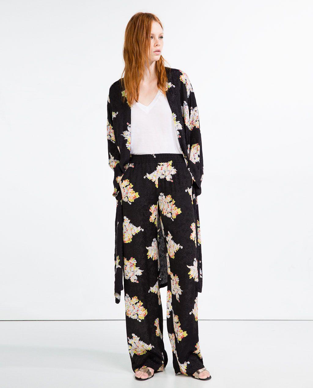 zara pyjama femme