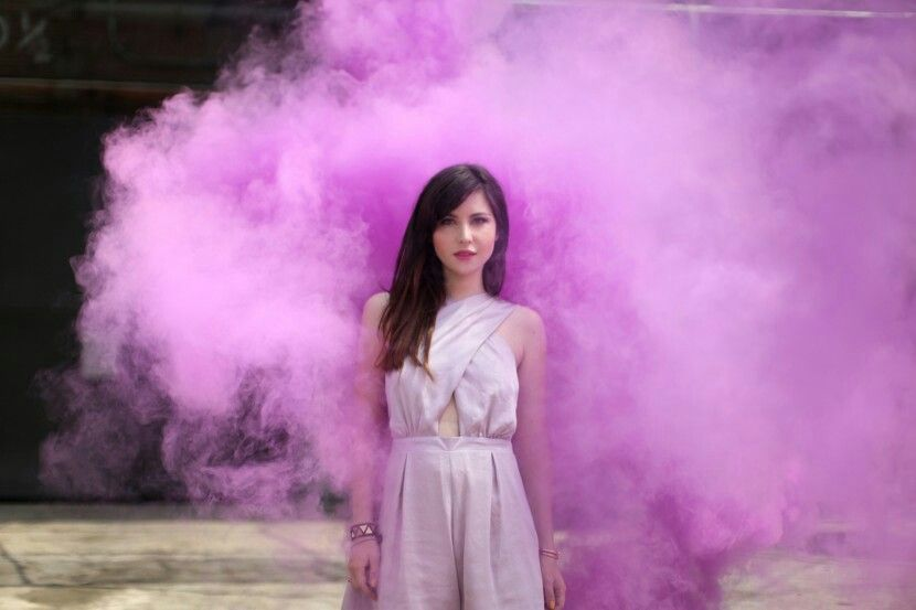 Purple smoke bomb photography … | Smoke Bombs / Grenades