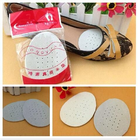 $6.99 (Buy here: http://appdeal.ru/635e ) Super-soft Pigskin Pad Forefoot Insole Half Yard Pad Genuine Leather Mat Slip-resistant Size Pad  P30 for just $6.99