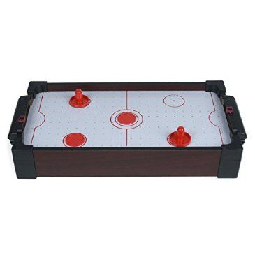 Mini Air Hockey Tabletop Game Http://shop.crackerbarrel.com/Mini