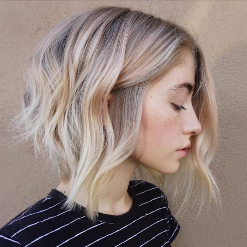 Swooning Over This Cool Blonde Tone Hairstyle That Has Some Major