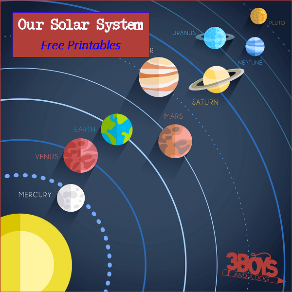 Free solar system printables for Solar energy articles for kids