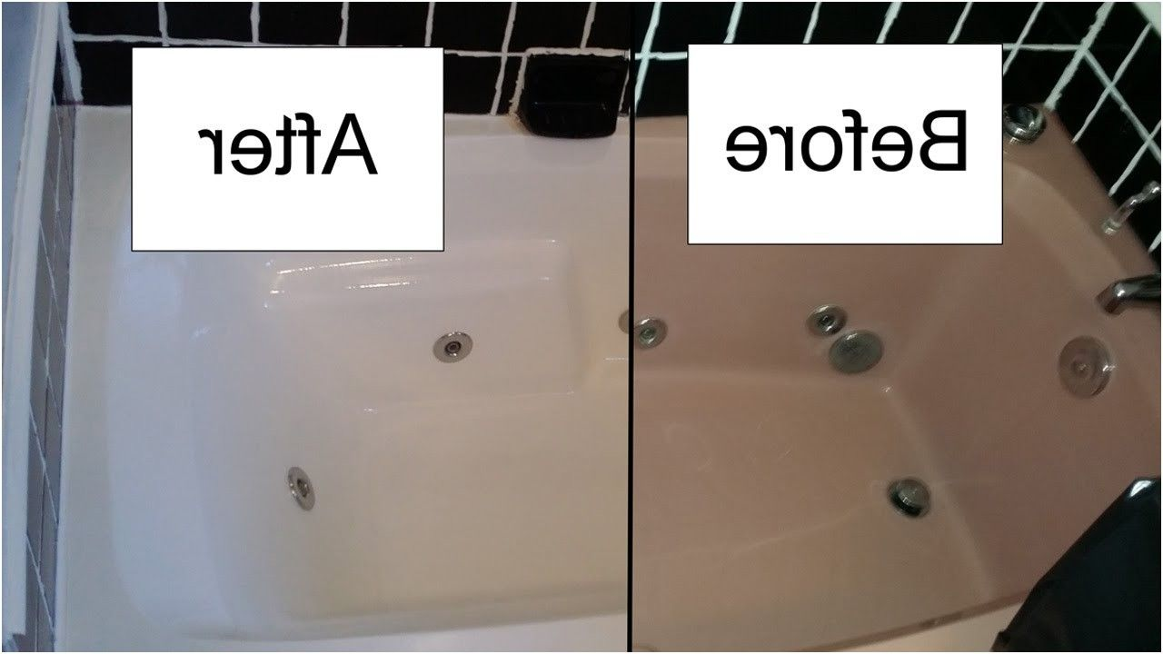 how to refinish a bathtub with rustoleum tub and tile kit youtube ...