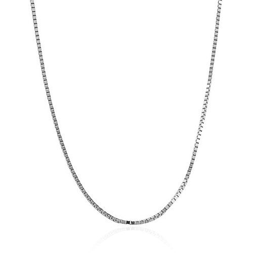 Bling Jewelry .925 Sterling Silver Unisex Box Link Chain Necklace 019 Gauge -18 #925, #019, #Bling, #Box, #Chain, #Gauge, #Jewelry, #Link, #Necklace, #Silver, #Sterling, #Unisex - http://goo.gl/RxHPv