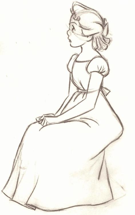 Wendy Disney S Peter Pan Disney Drawings Disney Concept Art