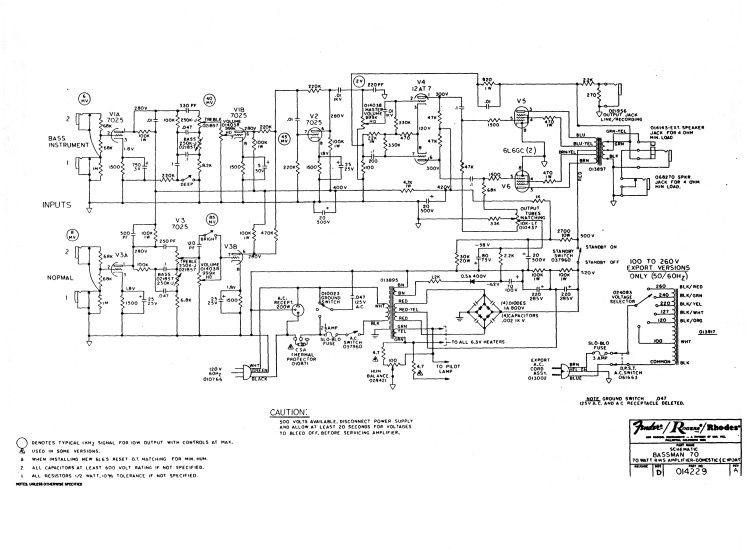 Fender Bman 70 Schematic | Amps | Diy amplifier, Guitar diy, Diy on