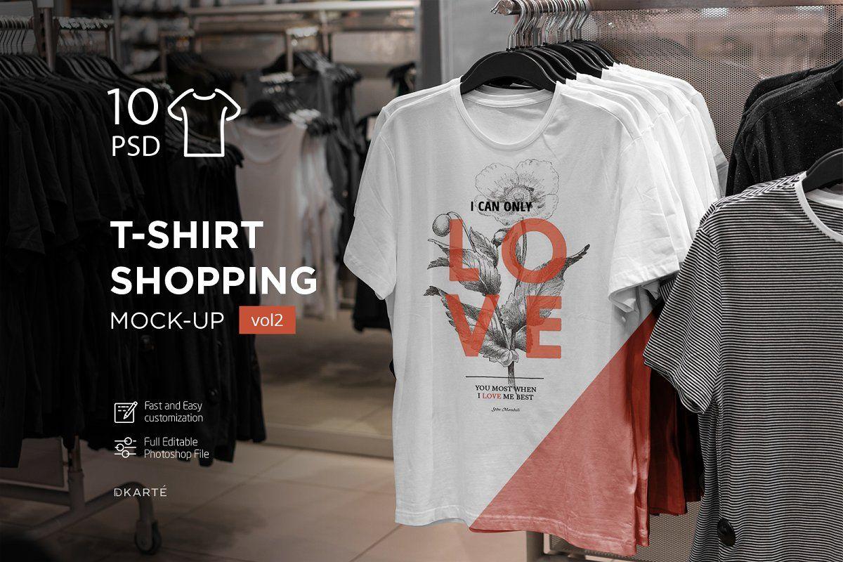 12335+ T-Shirt Mockup Urban Edition Vol. 2 Free Download Branding Mockups File