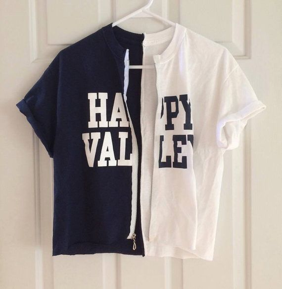 dffa57e72d117 Penn State Happy Valley t-shirt by ChicCreationsByLulu on Etsy