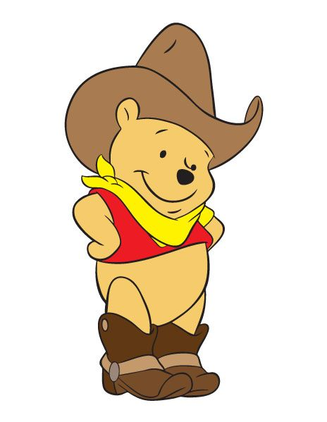 Pooh Cowboy Winnie The Pooh Cowboy By Kirikazukii On