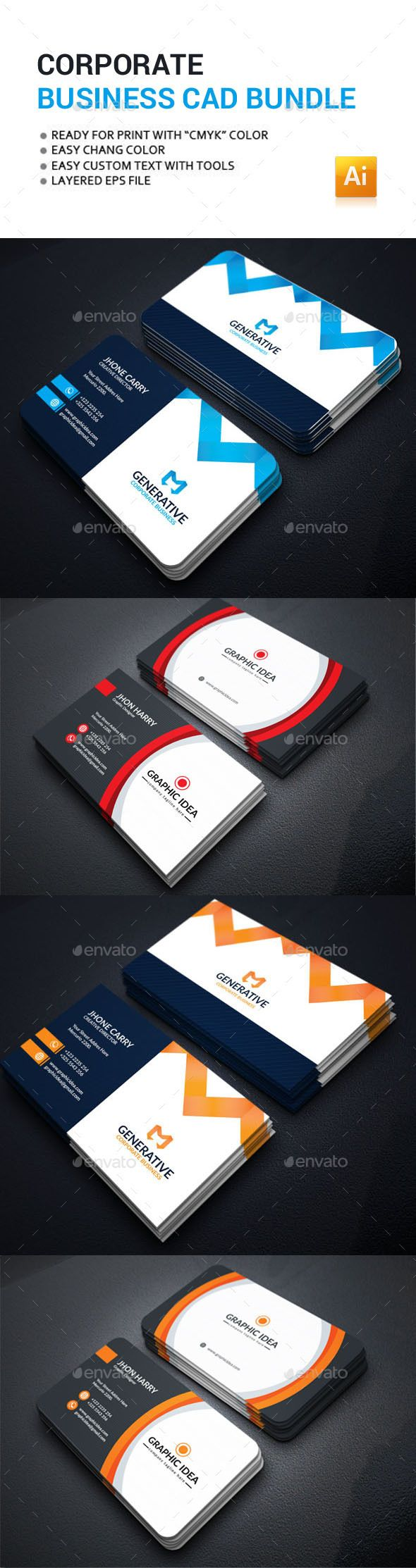 Business card bundle reheart Choice Image