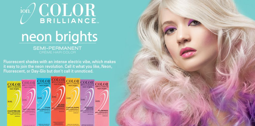 Ion Color Neon Brights Hair Pinterest Hair Color Color And