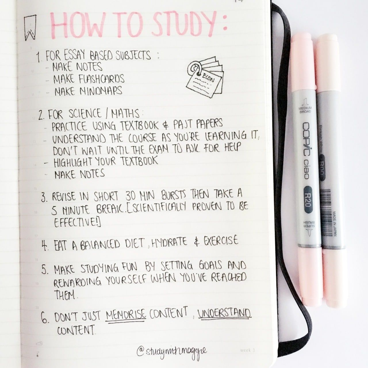 25 Creative School Bullet Journal Layouts {to help you stay on top of your study game!} #studymotivationquotes