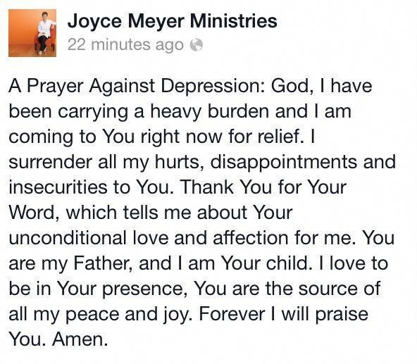 a prayer against depression prayerfordepression bipolara prayer against depression prayerfordepression
