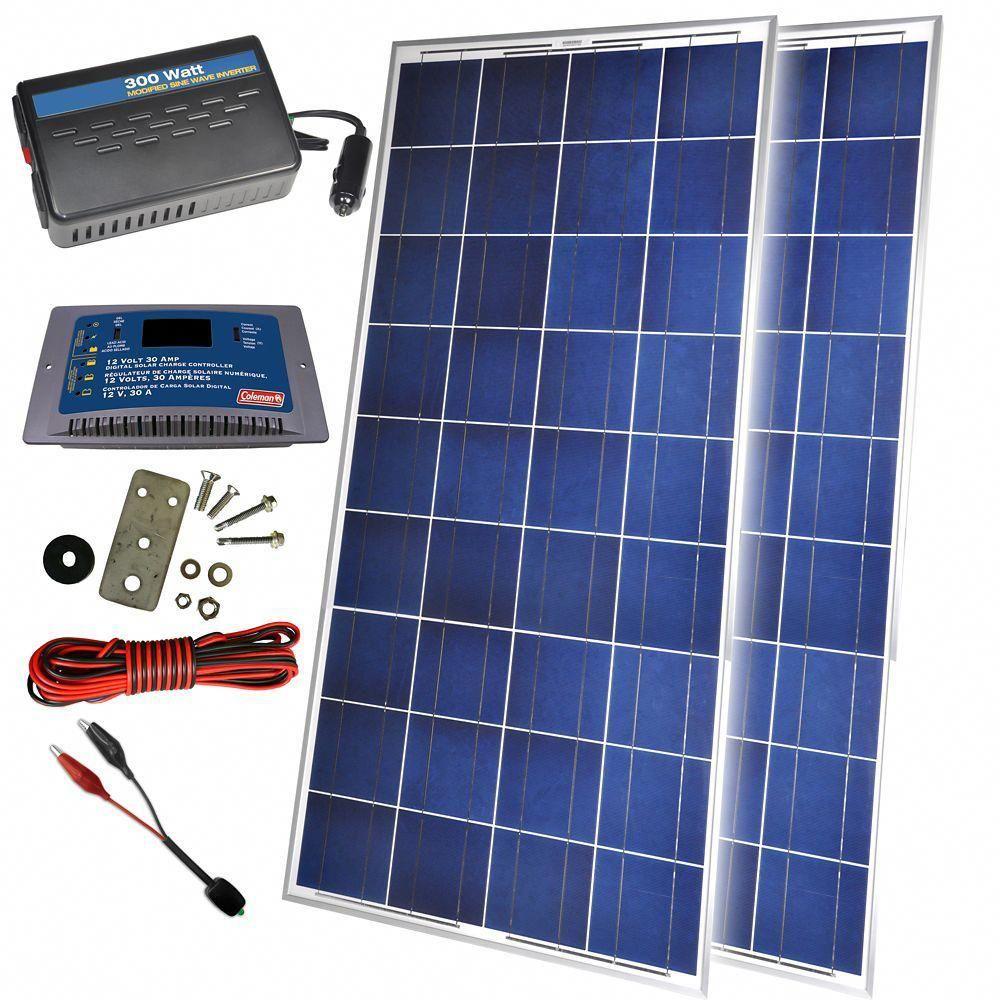 300 Watt 12 Volt Solar Backup Kit Solarpanels Solarenergy Solarpower Solargenerator Solarpanelkits Solarwaterh Solar Energy Panels Solar Panels Solar Heating