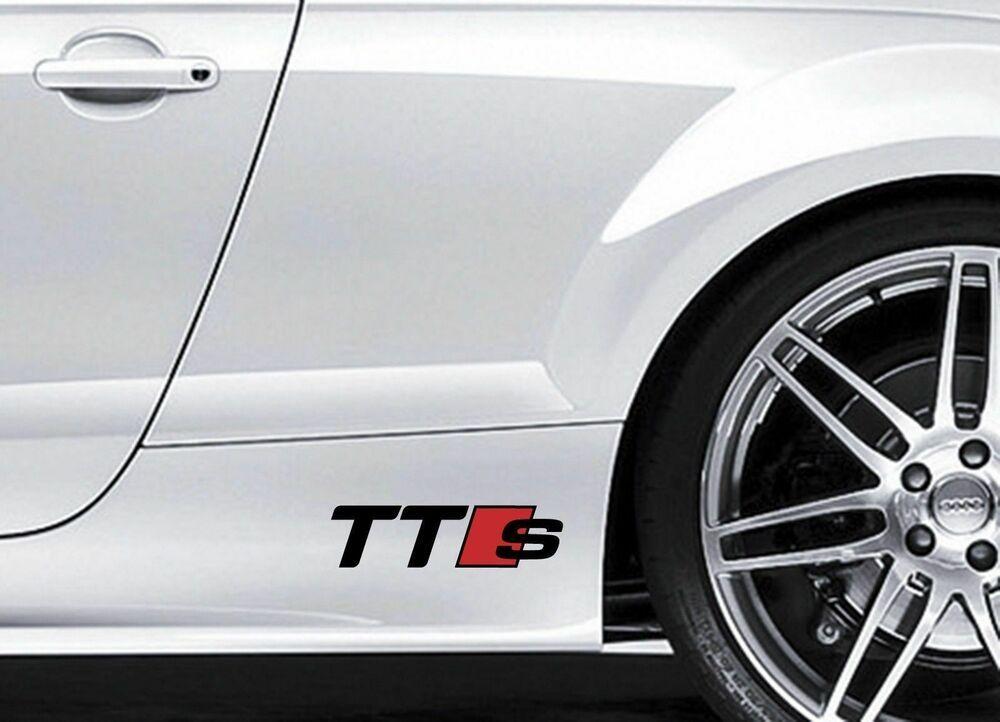 Racing Sponsors Sport Car Vinyl Decal Stickers JDM Emblem Logo Decal Set of Two
