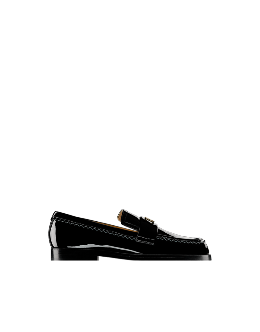 Patent calfskin loafers, 20mm... - #CHANEL #LOAFERS G31006 X02327 94305 #PATENT #CALFSKIN #LOAFERS, 20MM #HEEL 775 USD